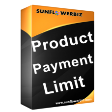 [Magento2] Product Payment Limit