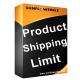 [Magento] Product Shipping Limit