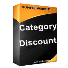 [Opencart] Category Discount / Tier Price