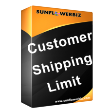 [Opencart] Customer Shipping Limit